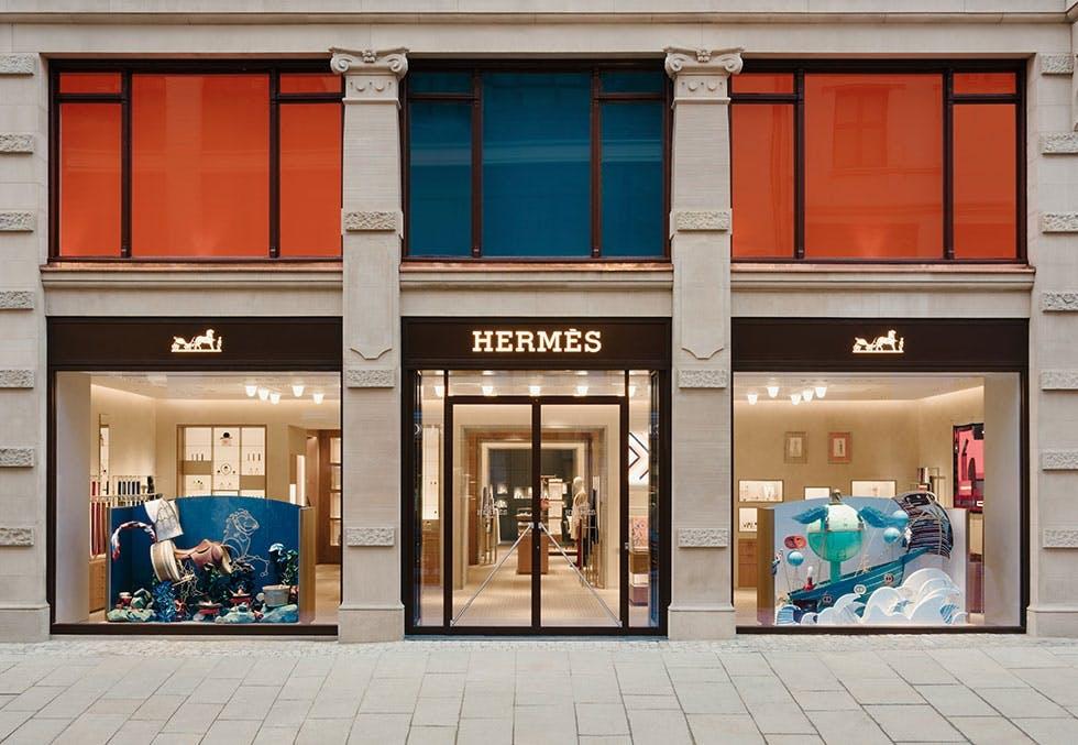 Hermès i Oslo.