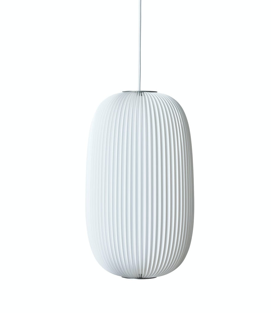 Hvit taklampe