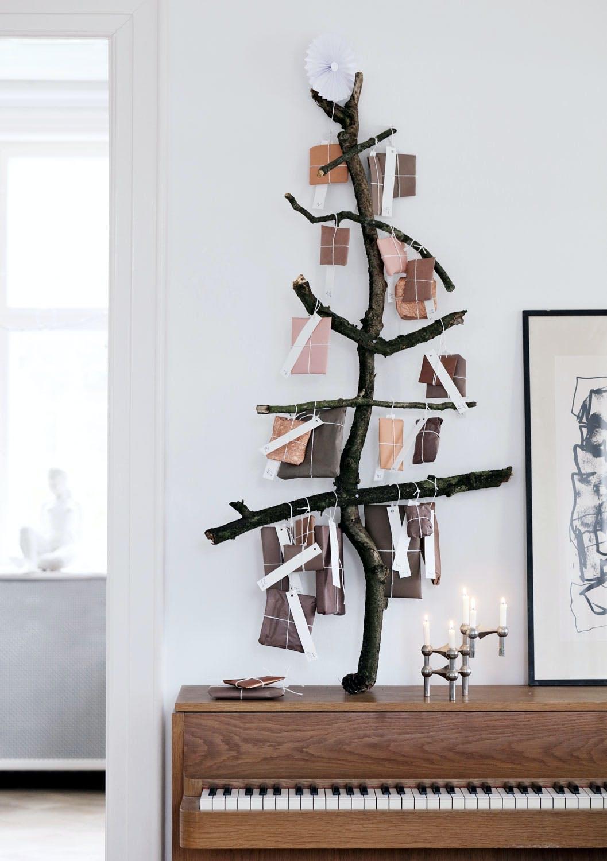 Kalender laget av grener