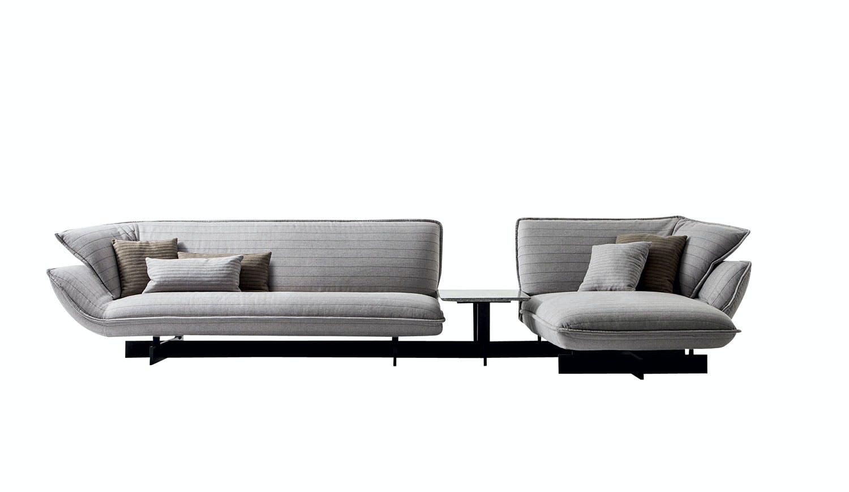 Svevende sofa med bord