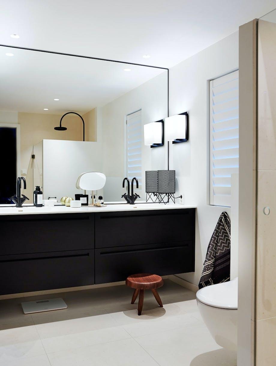 Hotellfølelse på badet