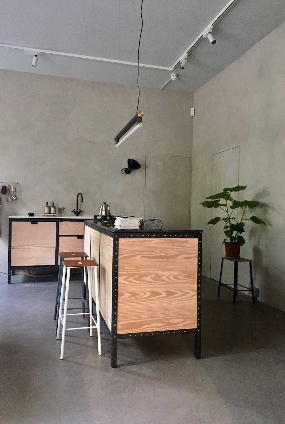 Rom for kjøkken og galleri