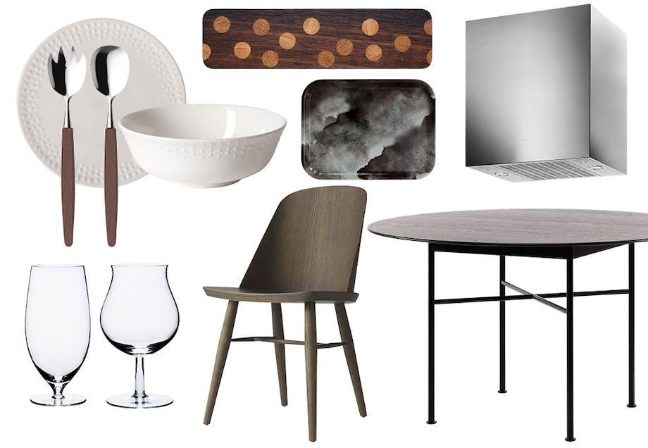 Norsk design til kjøkkenet
