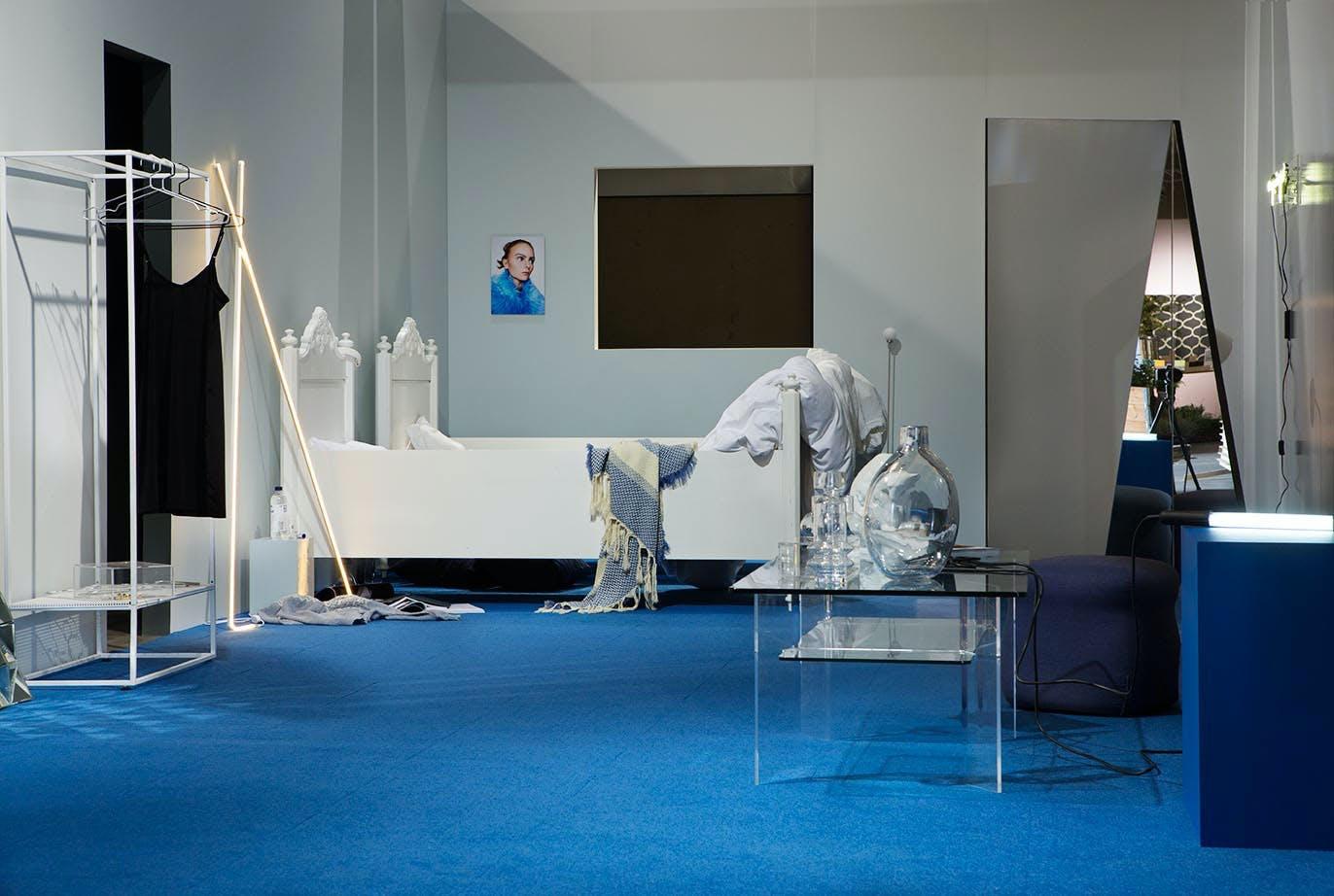 En utstilling med fire interiør-tendenser