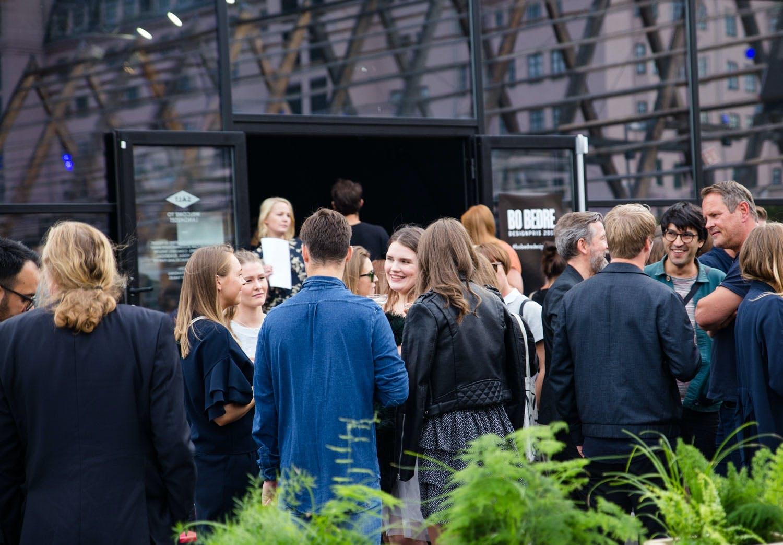 Mingling under Bo Bedre Designpris på SALT