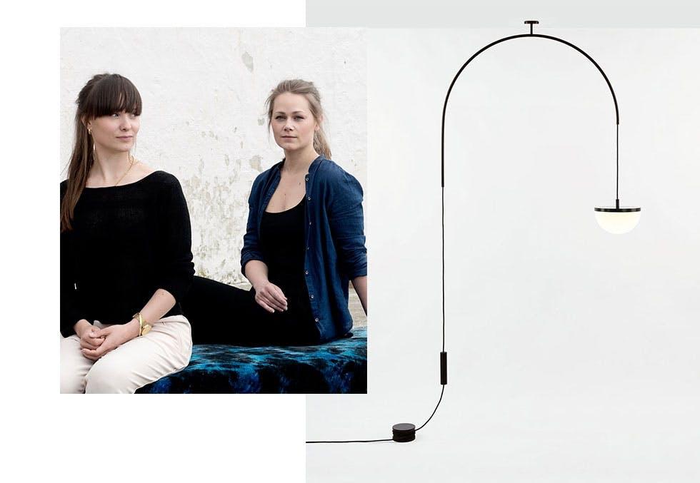 Årets lampe: Krane av Vera & Kyte og Ladies & Gentlemen