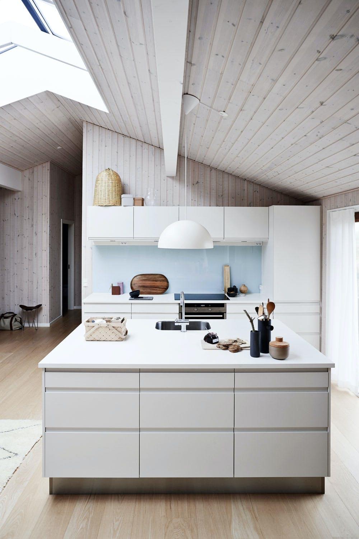 Lett, lyst og levende kjøkken