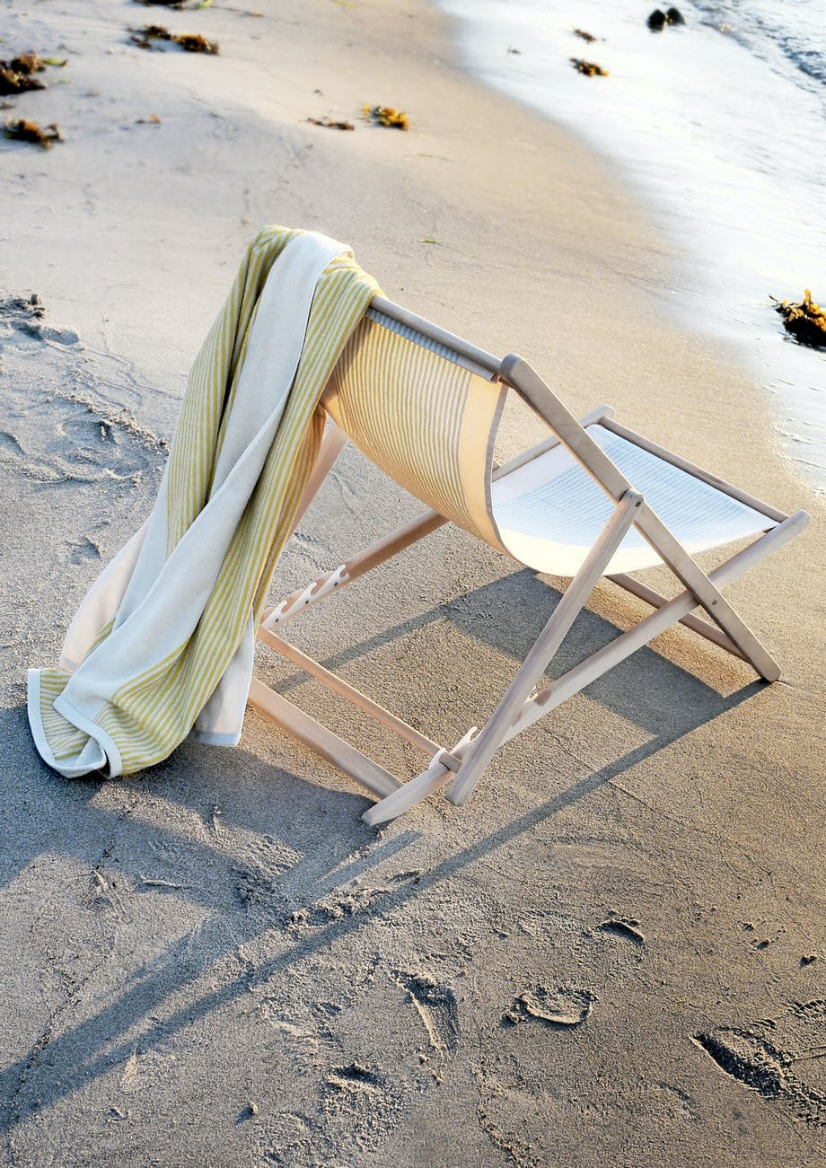 Stil på stranden
