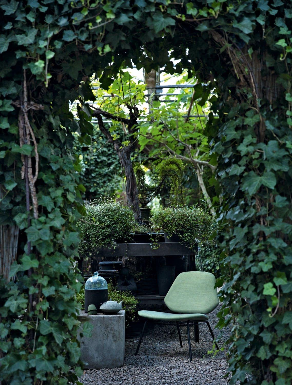 Møbler med gjenklang i det grønne