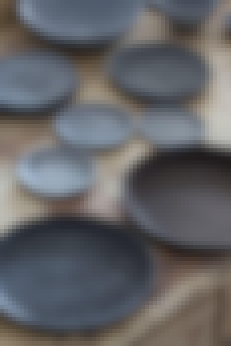 Keramikkverksted med brennovn