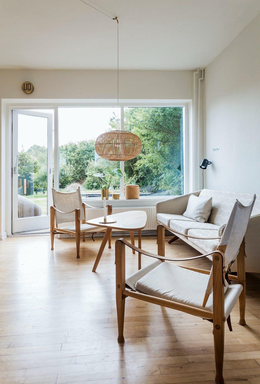 Klassisk design i tidløs stue