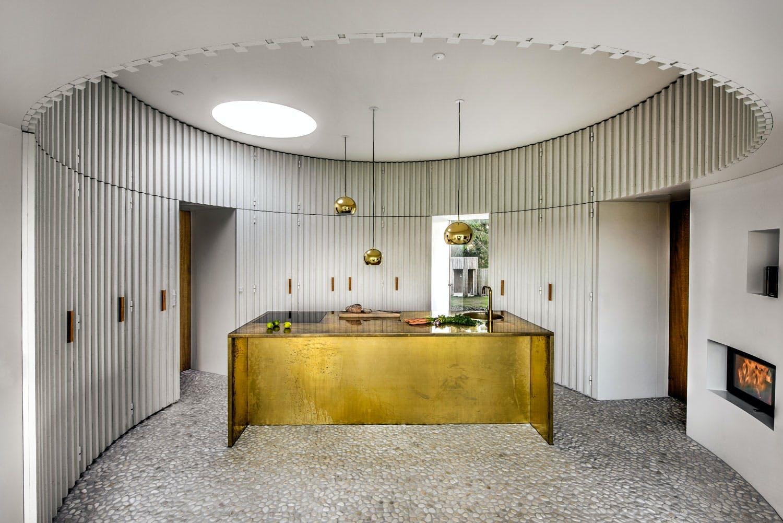 Nordisk glamour på kjøkkenet