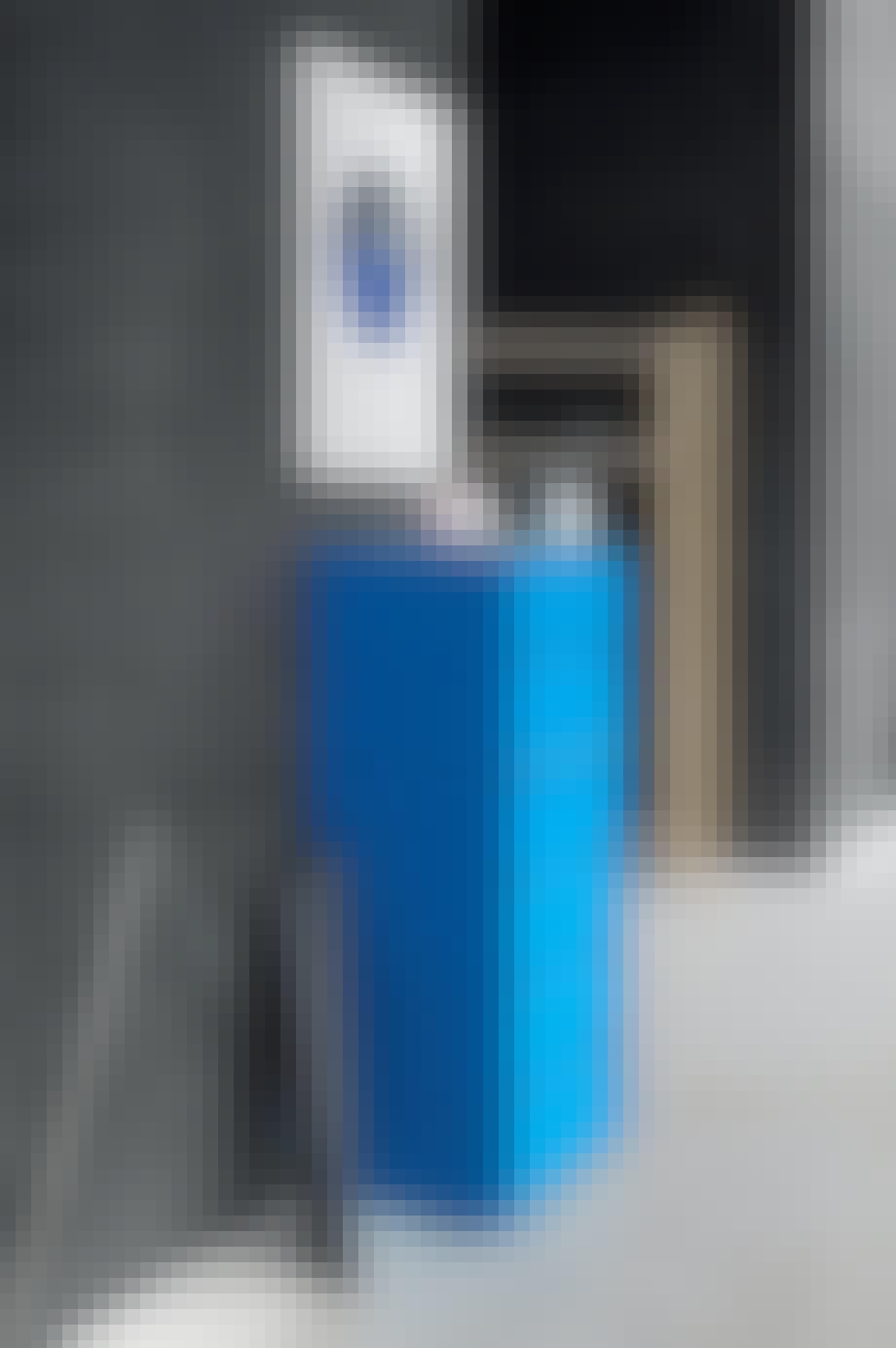 Blått blikkfang