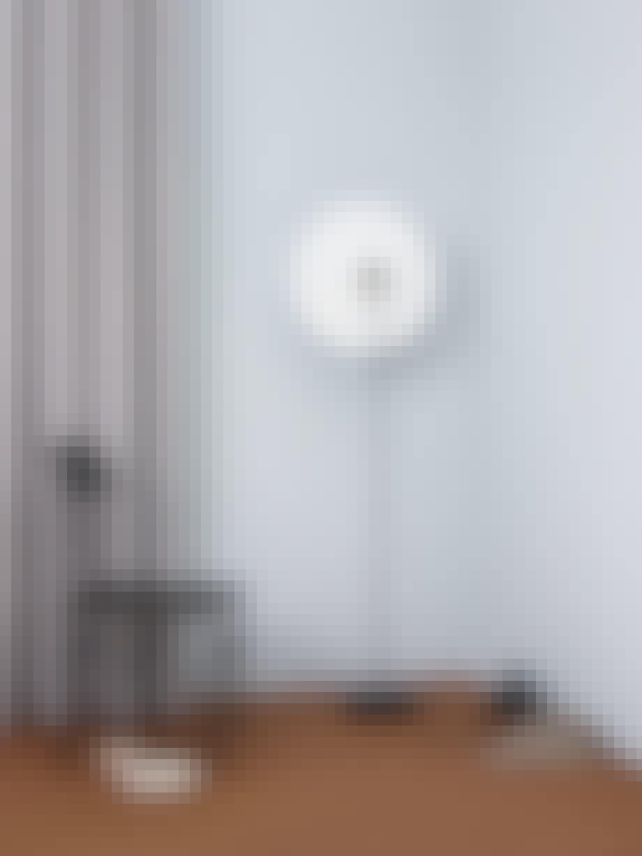 Skulpturell lampe