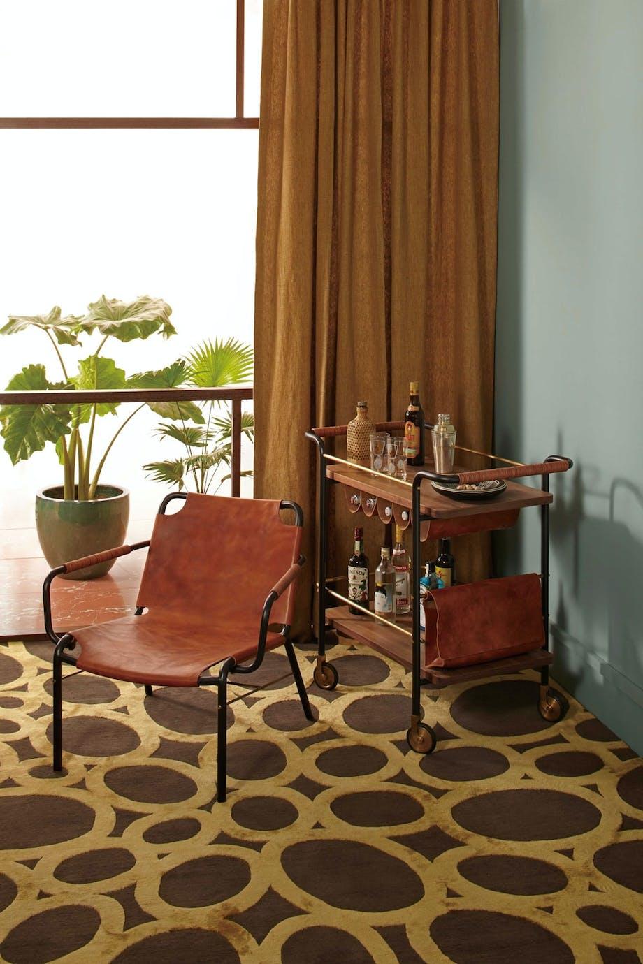 Matchende stol og barvogn