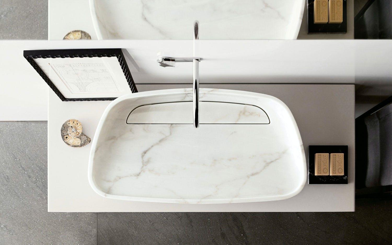 11. Vask med gyllen marmor