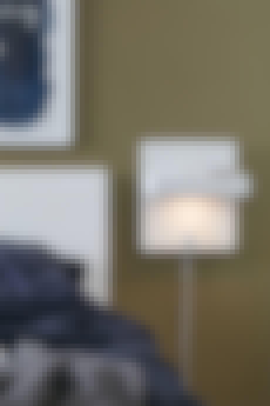Lampe og lader i ett