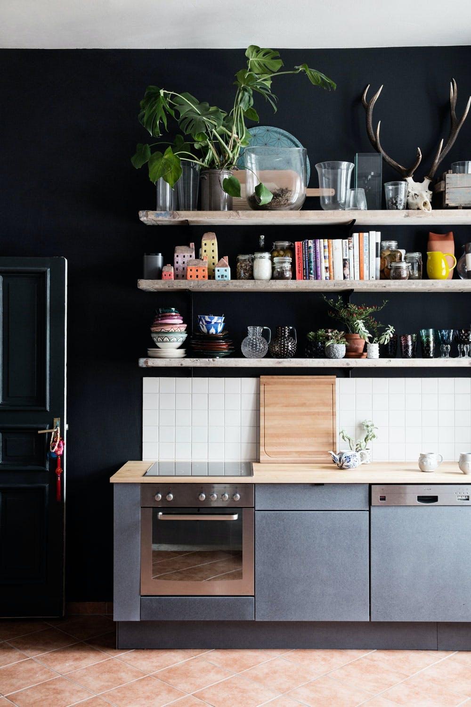 Plassbygget kjøkken