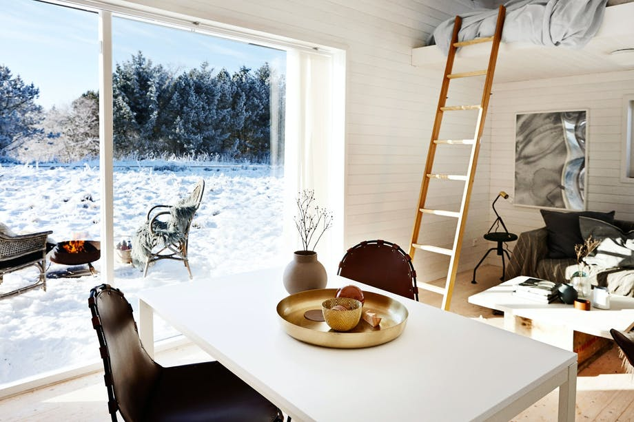Vinterlykke på hytta