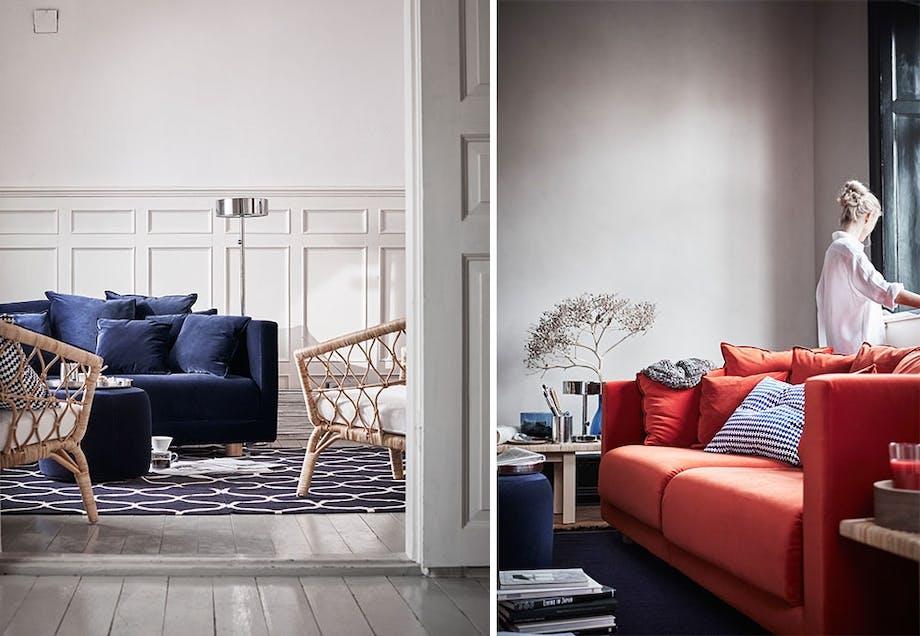 Komfortabel og fleksibel sofa