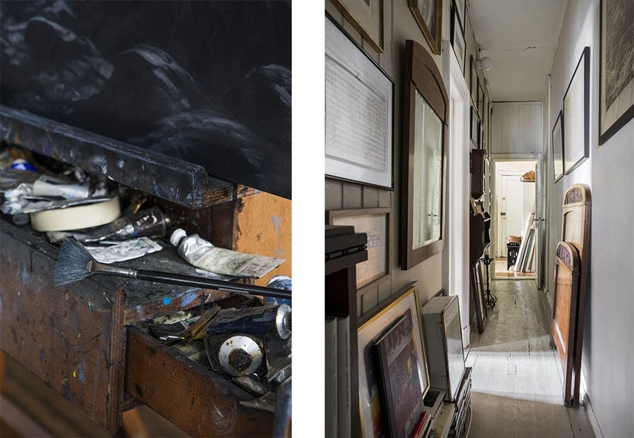 Boligbesøk hos billedkunstner Christopher Rådlund