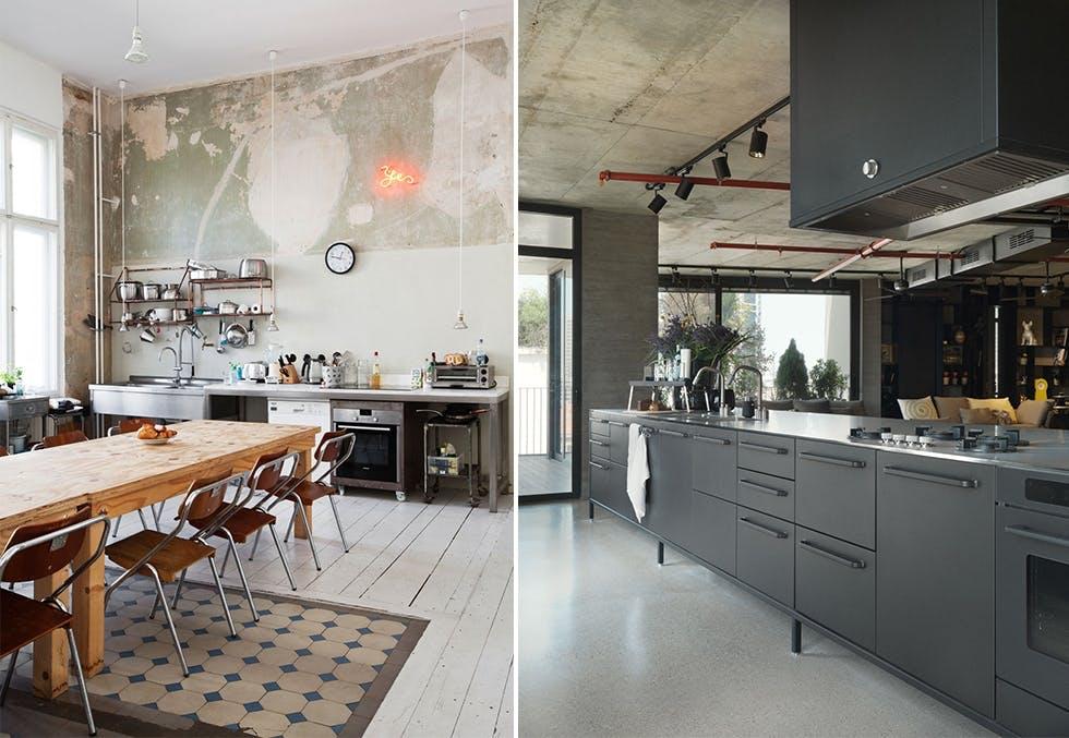 Kjøkken inspirasjon fra 2016