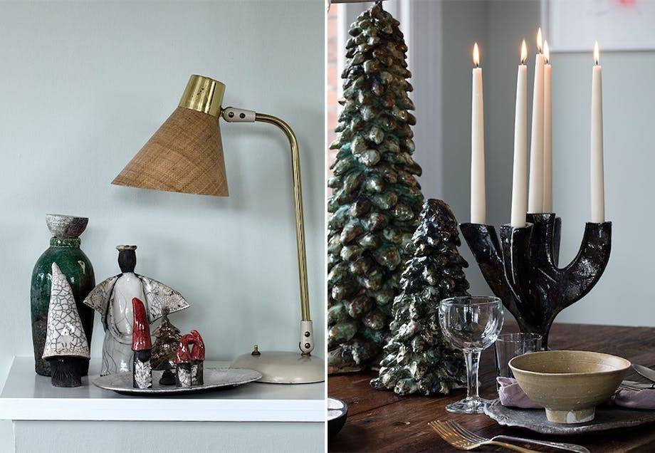 Julepynt i keramikk