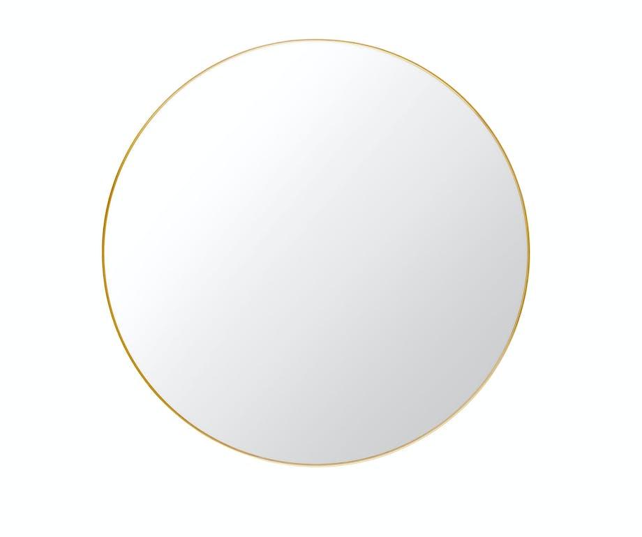 Rundt speil fra Gubi