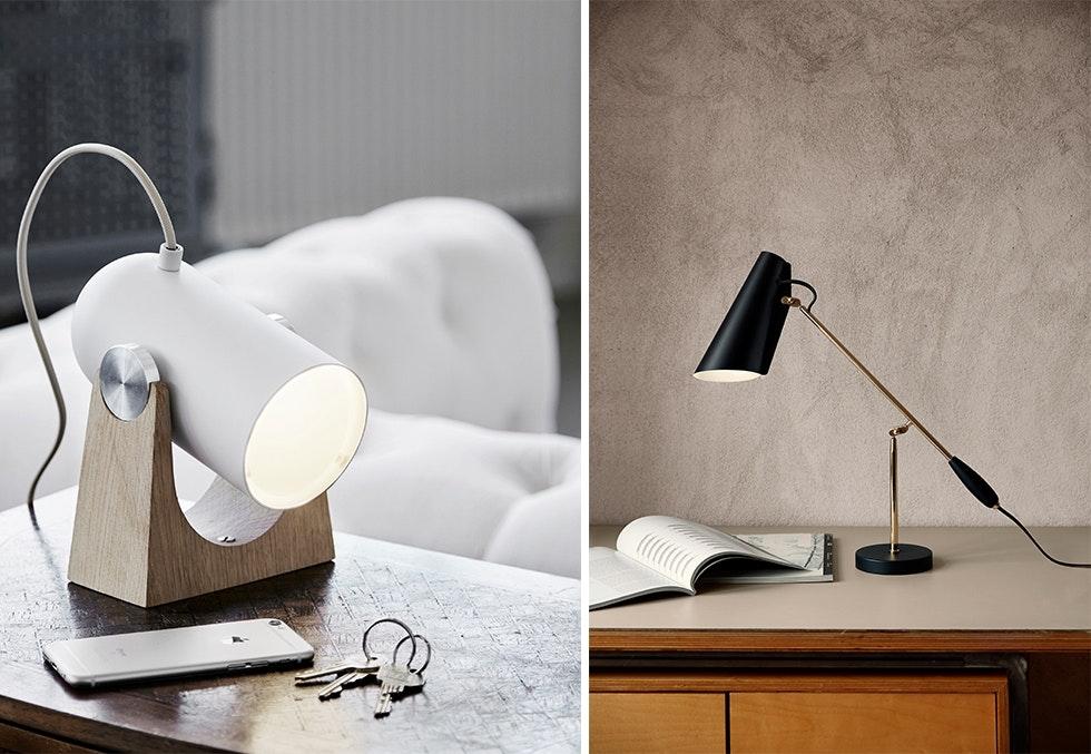 Vegglamper og bordlamper