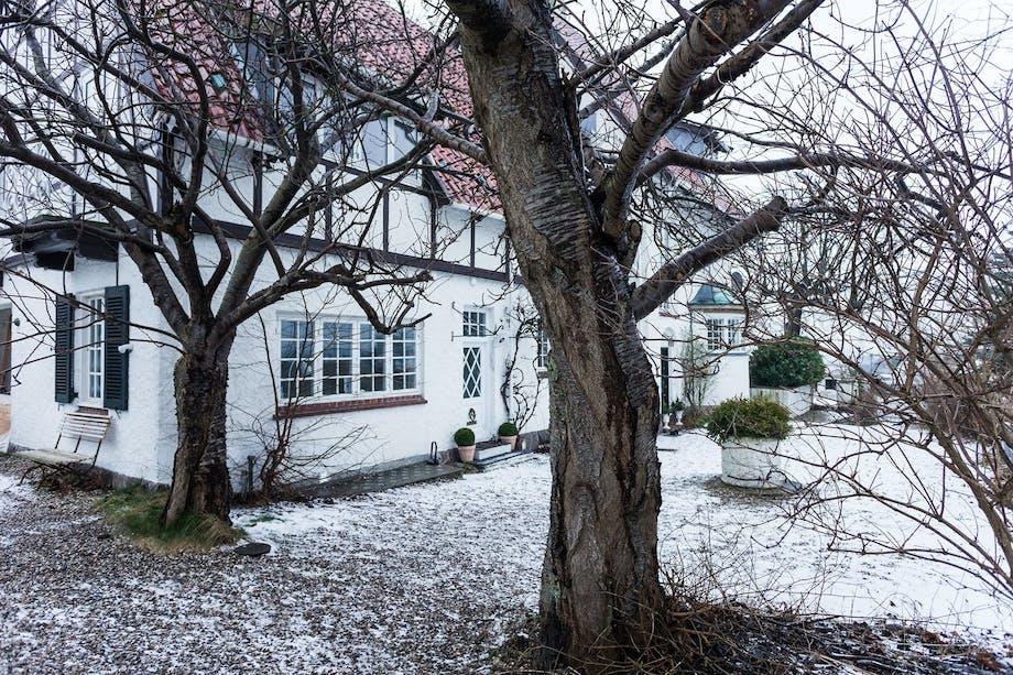 Hjemmet til familien Bjerre Poulsen utenfor København