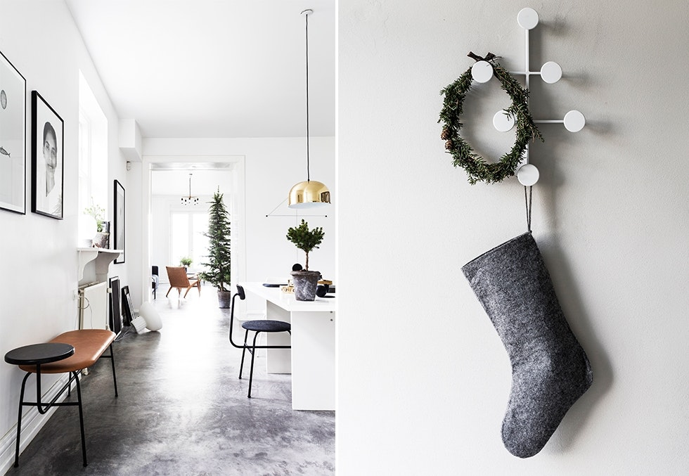 Jul hjemme hos Jonas Bjerre Poulsen fra Norm Architects