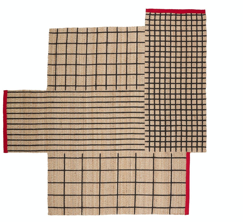 assymmetrisk teppe fra Ikea