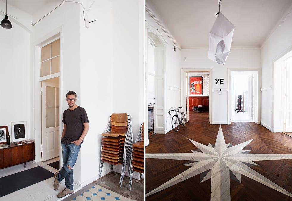 Hjemme hos Magnus Reed i Berlin.