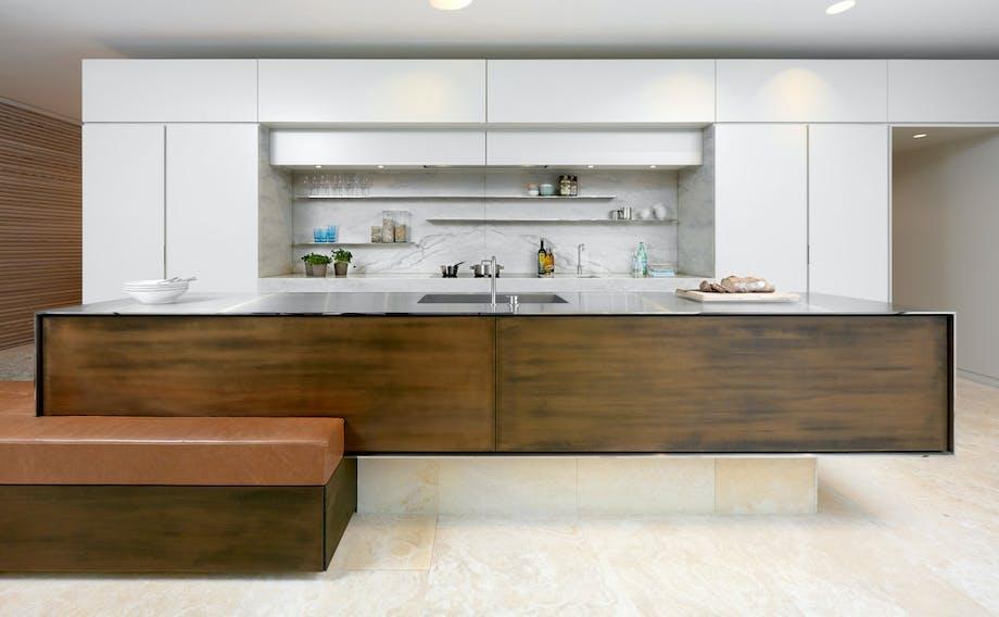 Materialmiks på kjøkkenet