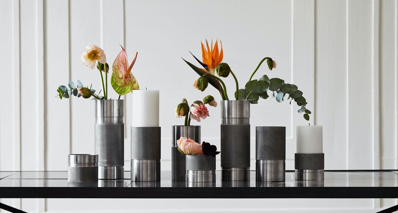 Vaser eller lysestaker