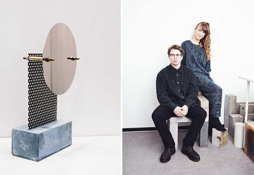 Årets kunsthåndverk: Speilobjekt av Pettersen & Hein