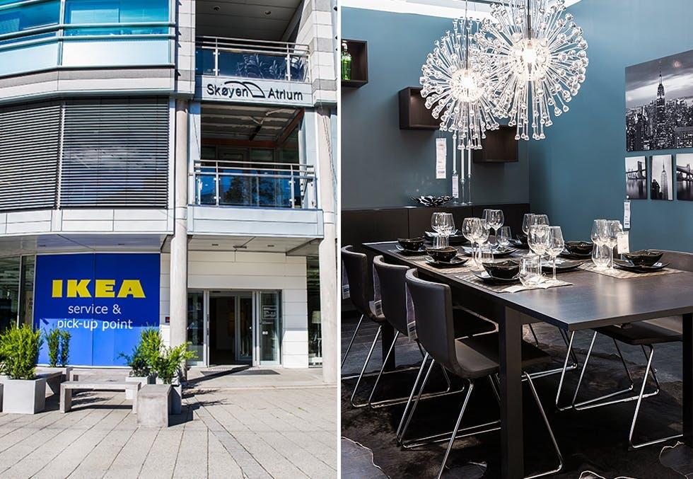 Ikea åpner ny butikk på Skøyen i Oslo