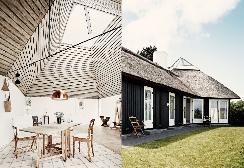 Hytte med pyramideformet glasstak var arkitektens kjærlighetsprosjekt til venneparet.