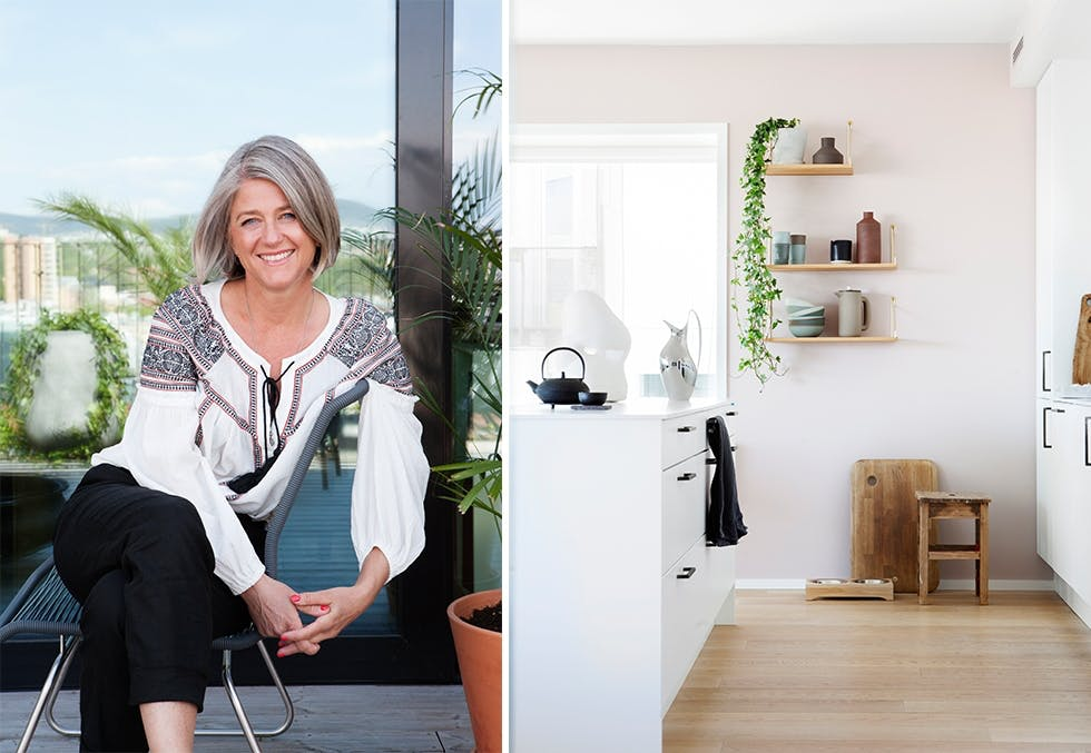 Grete Sivertsen byttet huset mot leilighet i Barcode