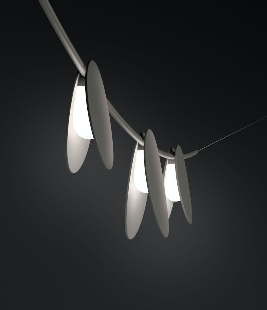 Unik lyslenke med LED