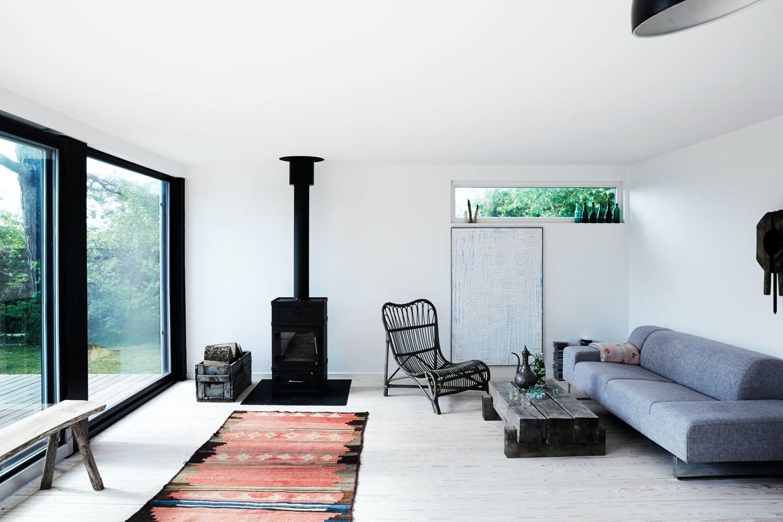 Enkle rom med få ting