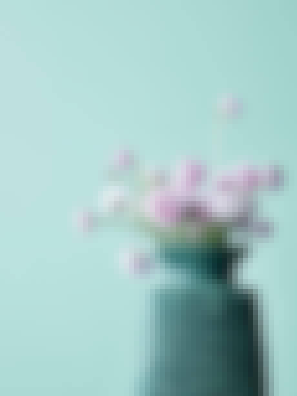 1. Vase med tekstur