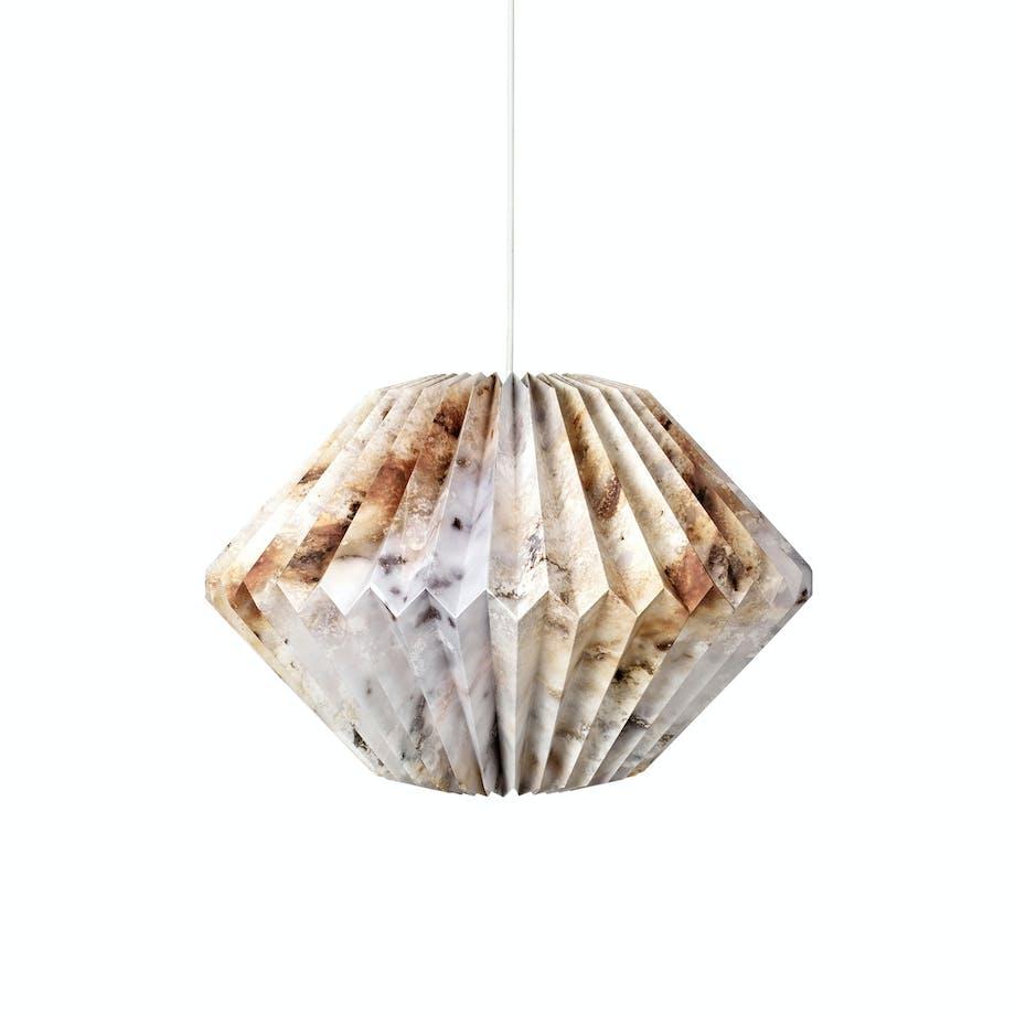 Steinkul lampe