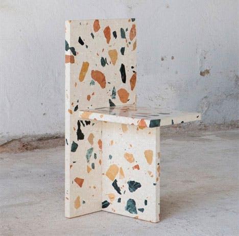 Spettete terrazzo-stol