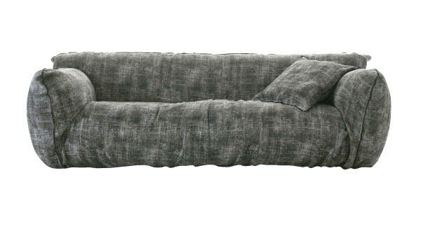 Steinmønstret sofa