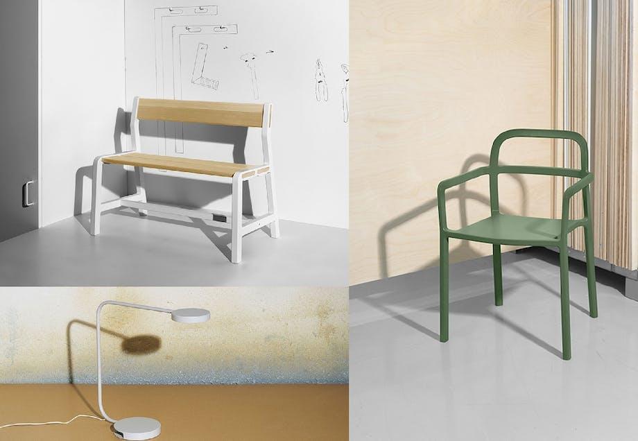 Danske Hay samarbeider også med Ikea om å designe en kolleksjon for 2017. Her har vi allerede fått noen bilder av produktene som blir tilgjengelig fra 2017, og kolleksjonen består av både møbler, lamper, tilbehør og tekstiler.