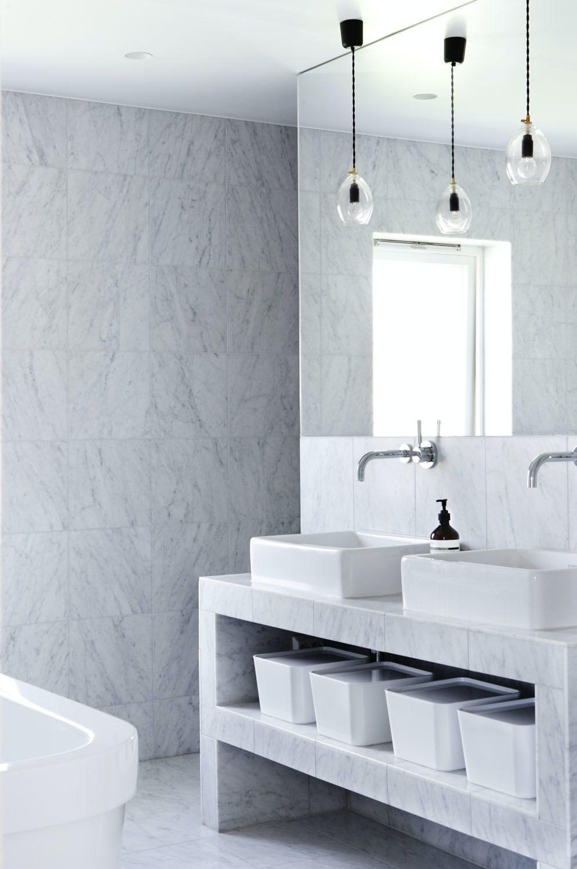5. Drømmebad i marmor