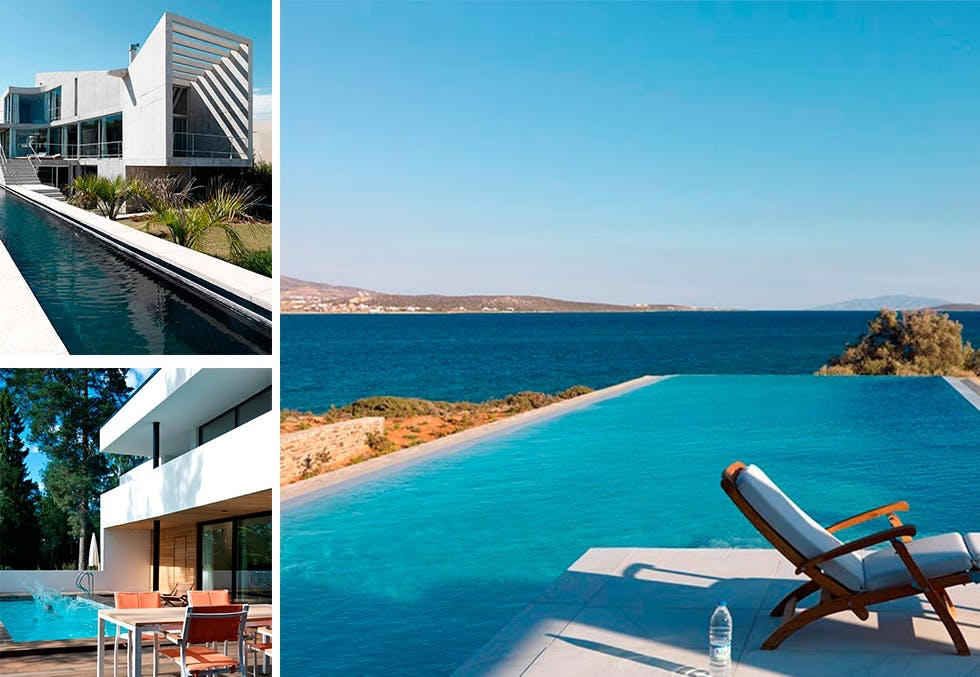 8 drømmehus med basseng