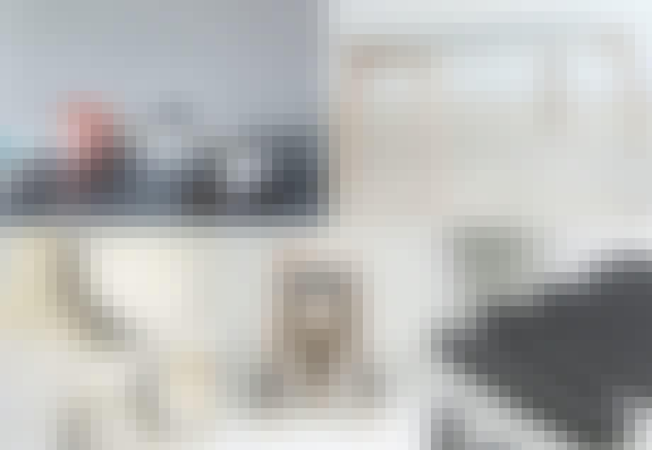 1. Keramikkservise Vei, designet av Sara Skotte.   2. Solem Table, designet av Martin Solem.   3. Servise, designet av Runa Klock for The Thief Hotell.   4. Krakk Vava, designet av Kristine Five Melvær.   5. Bordskåner, designet av Noidoi.