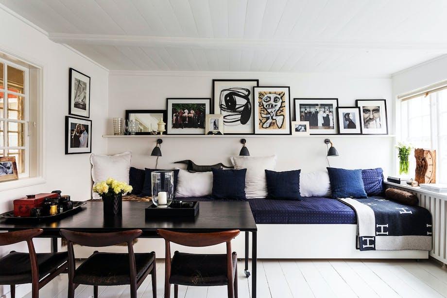 Møbler som kan trylles om og stues vekk er fint om leiligheten er liten.